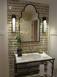 Wrought Iron Bathroom Lighting Wrought Iron Vanity Bathroom Traditional With Accent Tile Wall