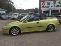 saab convertible green earthy cars blog earthy cars spotlight 05 29 2013