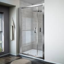 Large Shower Doors Bathroom Sliding Shower Doors Stylish Design Of Shower With Clear