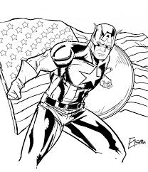 marvel comic coloring pages get this captain america coloring pages marvel superhero 31624