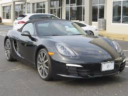 porsche boxster 2016 used porsche boxster 2dr roadster black edition at porsche