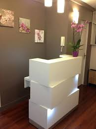 Small Reception Desk Ideas Salon Reception Desk Things On Salon Reception Desk