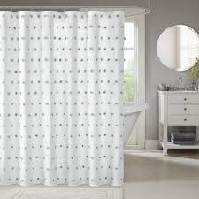 White Shower Curtains White Shower Curtains You Ll Wayfair