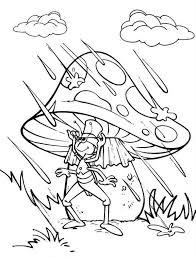 phillip grasshopper standing gig mushroom maya