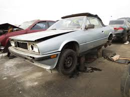 maserati biturbo sedan junkyard find 1986 maserati biturbo spyder the truth about cars