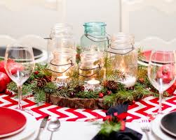Table Decoration For Christmas Homemade by Remarkable Homemade Christmas Table Centerpieces 43 On Home Design