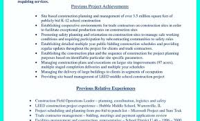 middle management examples construction management resume examples gse bookbinder co