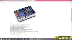 hindi english dictionary free download full version pc how to download oxford webster dictionary on windows pc free youtube