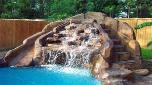 pool designs with waterfalls ᴴᴰ diy backyard