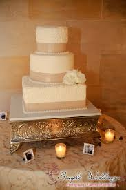 Romantic Decor And More This Elegant Creme And Beige Wedding Cake With White Roses