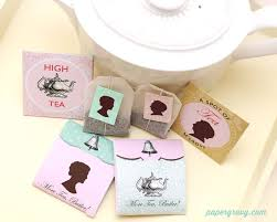 Downton Favors by How To Host A Downton Tea Tea