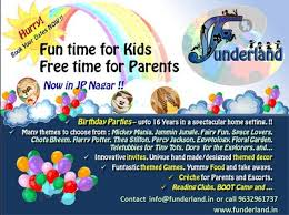 funderland theme parties u0026 place for kids