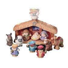 A Christmas Story Ornament Set - fisher price little people nativity set a little people