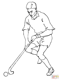 playing field hockey coloring page free printable coloring pages