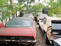 camaro salvage yard and second generation camaro junkyard chevy magazine