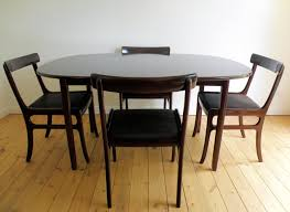 top modern expandable dining table on furniture with slice cocoa