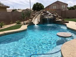 grotto slide desert soul landesign pools u0026 landscape