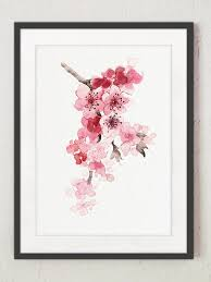 best 25 cherry blossom watercolor ideas on pinterest cherry