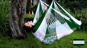 Hanging Chair Hammock Yellow Leaf Hanging Chair Hammock Youtube