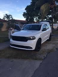 Dodge Durango White - new durango r t blacktop white