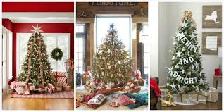 decorated christmas trees 2016 cheminee website
