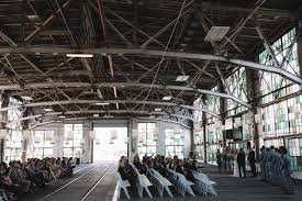 albuquerque wedding venues industrial new mexico warehouse wedding alyssa mat green
