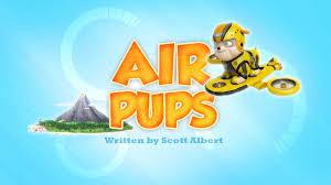 air pups paw patrol wiki fandom powered wikia