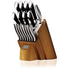 cheap kitchen knives set chicago cutlery fusion 18 knife set review with block