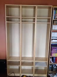 Locker Bookshelf Free Standing Billy Lockers Ikea Hackers Ikea Hackers