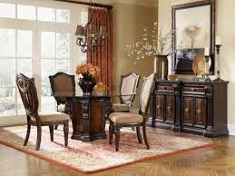 beautiful dining room table and china cabinet contemporary home