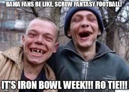 Iron Bowl Memes - ugly twins meme imgflip
