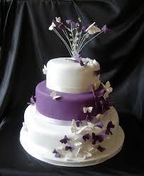 butterfly wedding cake purple butterfly wedding cake idea in 2017 wedding