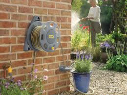 wall mounted hose reels hozelock
