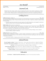 cook resume exles prep cook resume exles cooks food and beverage resume