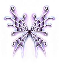 spider web tattoo wings by jennybunny on deviantart