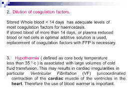 more than 35 days of lecture 7 blood bank blood transfusion reaction non immunological