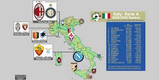 Italy On A Map by Italy Billsportsmaps Com
