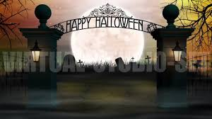 scary halloween background spooky halloween cemetery background loop youtube