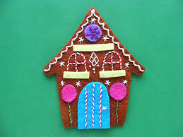 gingerbread a free felt ornament pattern shiny happy
