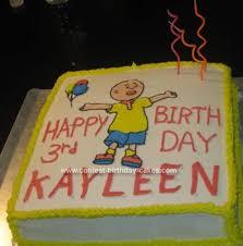 caillou birthday cake cool caillou birthday cake