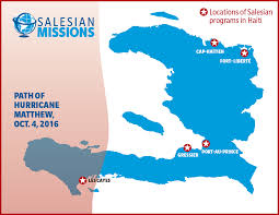 Haiti Map Haiti Salesian Missionaries Continue Relief Work In Aftermath Of