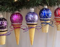 owl christmas ornament owl ice cream cone owl ice cream