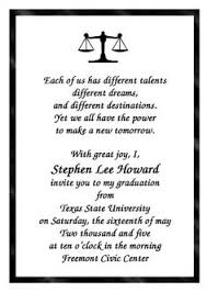 graduation quotes for invitations find lots of free ged commencement ceremony announcement