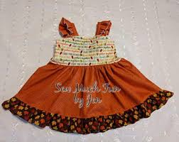thanksgiving baby fall dress