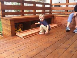Decks With Benches Built In Bench Excellent Top 25 Best Deck Seating Ideas On Pinterest