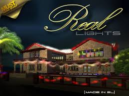 second life marketplace the real christmas lights programmable