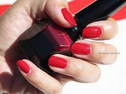 louboutin rouge nail colour the beauty look book