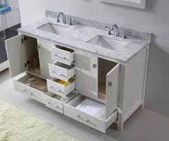 Bathroom Vanity 60 by Virtu Usa Caroline Avenue 60 Double Bathroom Vanity Set In White