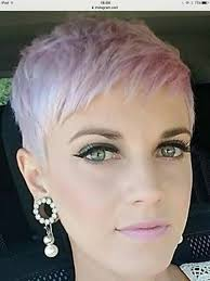 cropped hairstyles with wisps in the nape of the neck for women blonde crop w tight tapered nape hot and sexy anyone