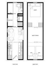 Tiny House Floor Plan Maker 8x20 Floor Plan I Would Add A Fold Down Table For A Dining Space